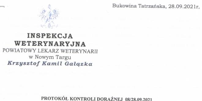 Stanowisko Stowarzyszenia oraz wyniki badań Powiatowej Inspekcji Weterynaryjnej